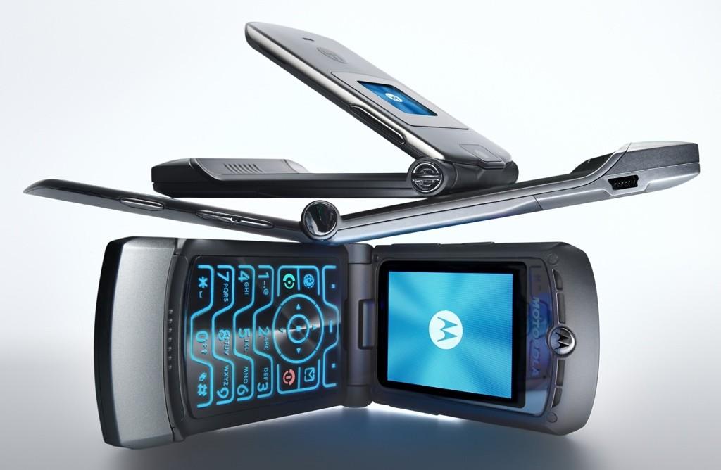 Smartphone with style - Motorazr