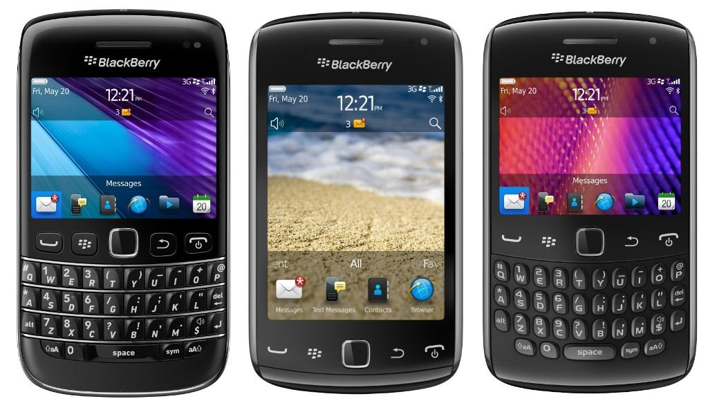 Smartphone for professionals - Blackberry Bold and Curve