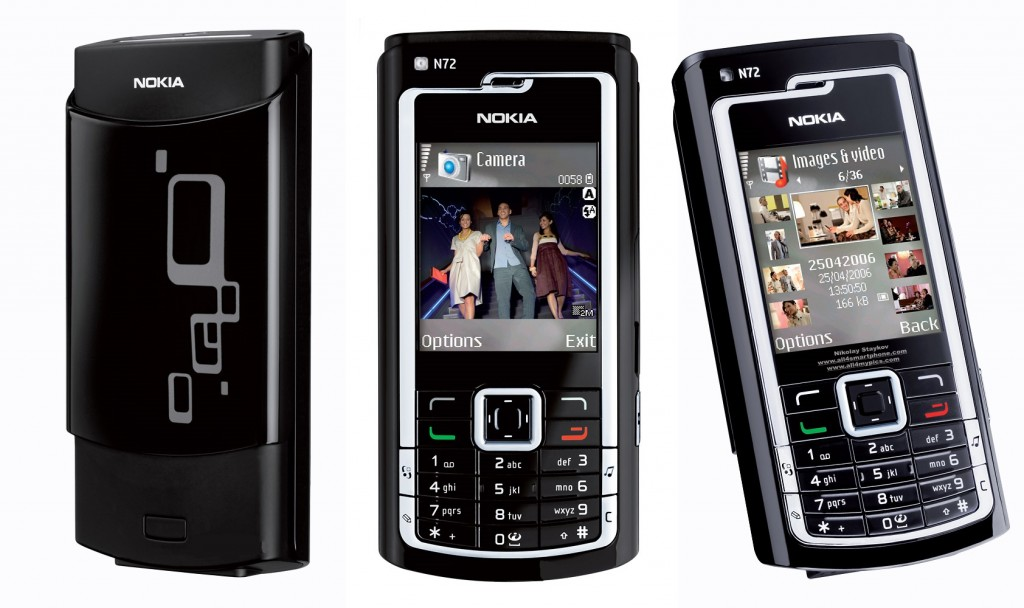 Smartphone with technology - Nokia N Series
