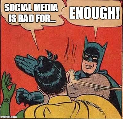 social network blackouts enough