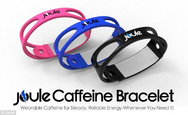 caffeine bracelet joule