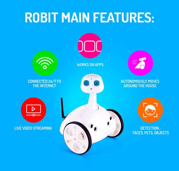 home robot robit