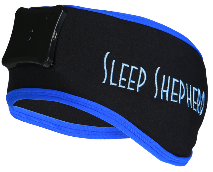 sleep well with the sleep shepherd blue