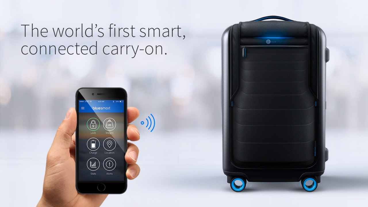smart suitcase: bluesmart