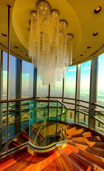 burj khalifa staircase