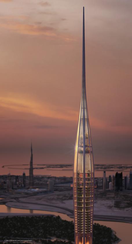 The-Tower-at-Dubai-Creek-Harbour-(Sunset-render)