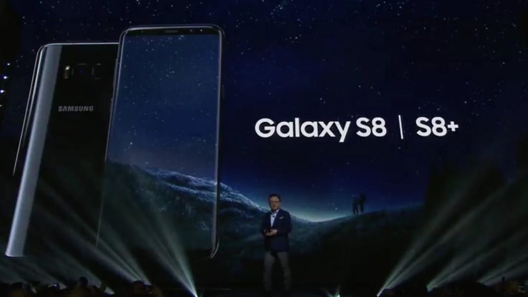 Samsung S8 Screen