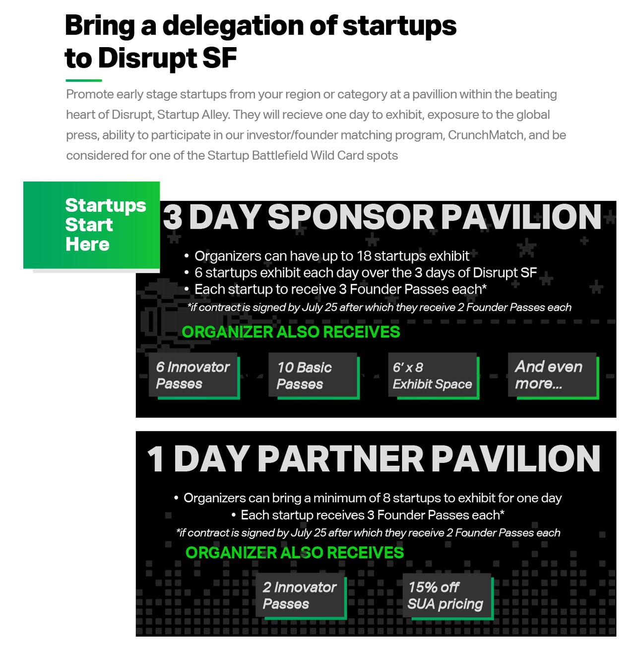 startup pavilion