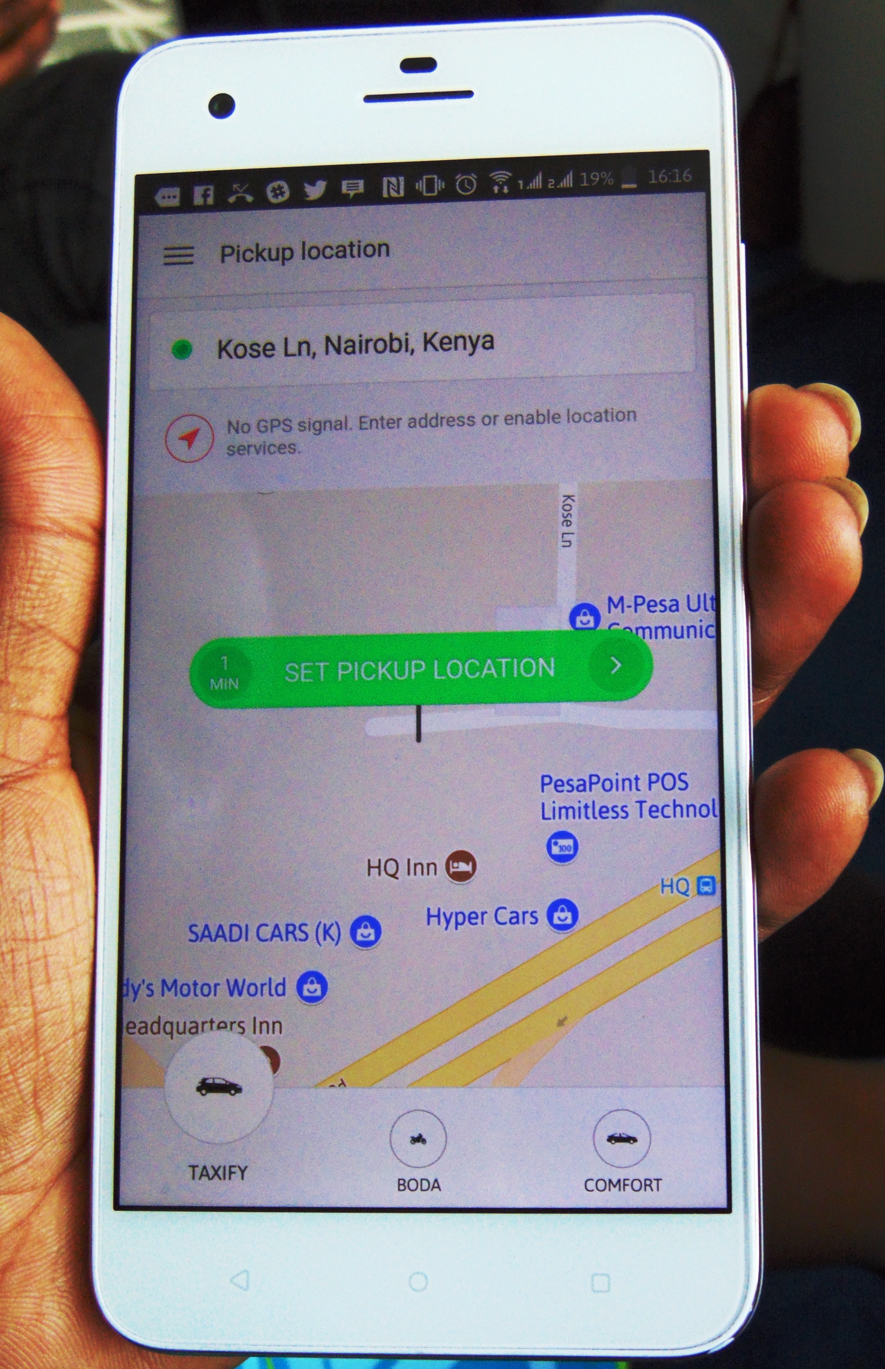 taxify boda app