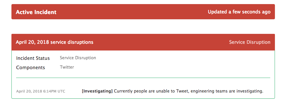 Twitter is down again for some [Update: It's Back