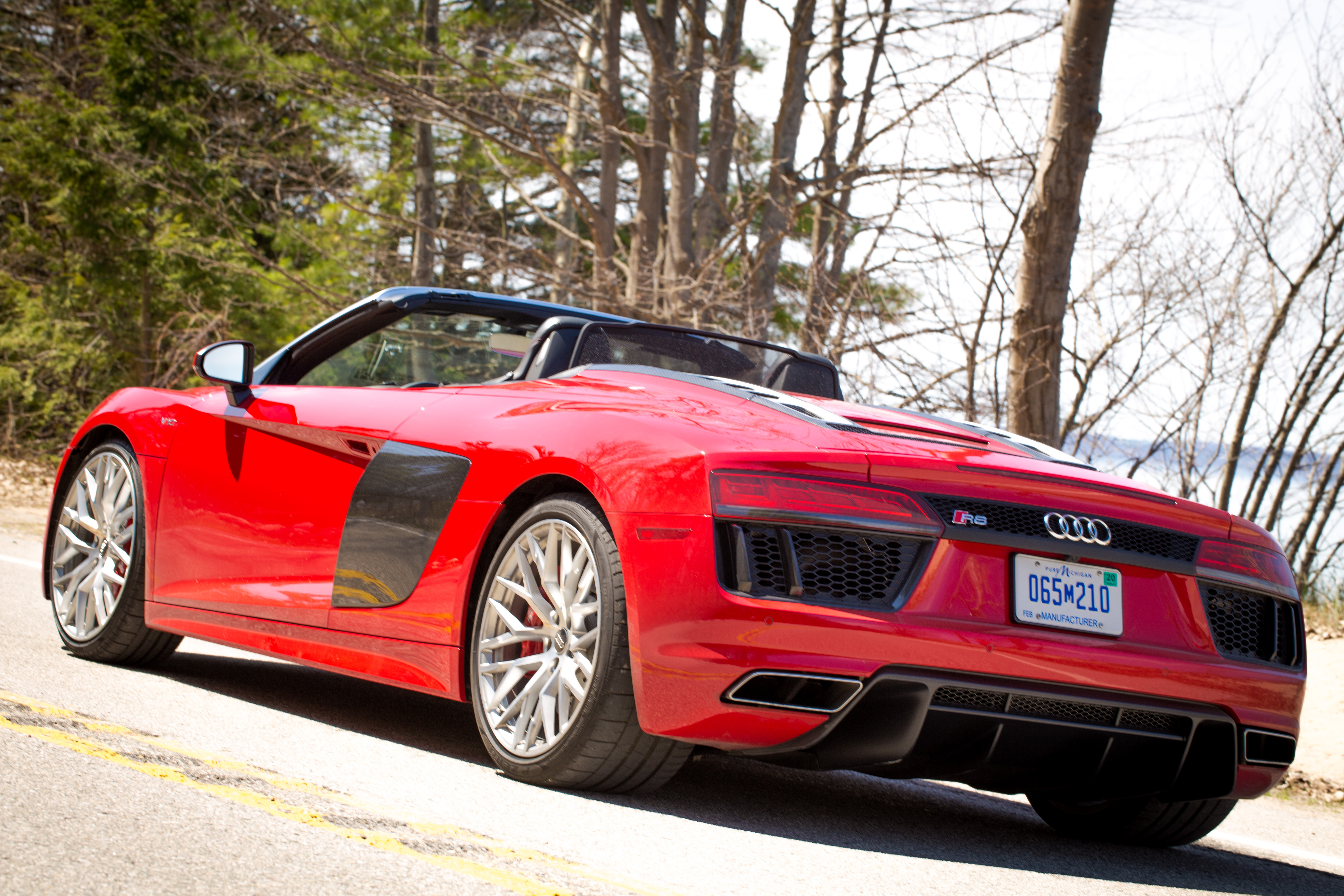 Review A Week In An Audi R Spyder An Everyday Supercar - Where are audis made