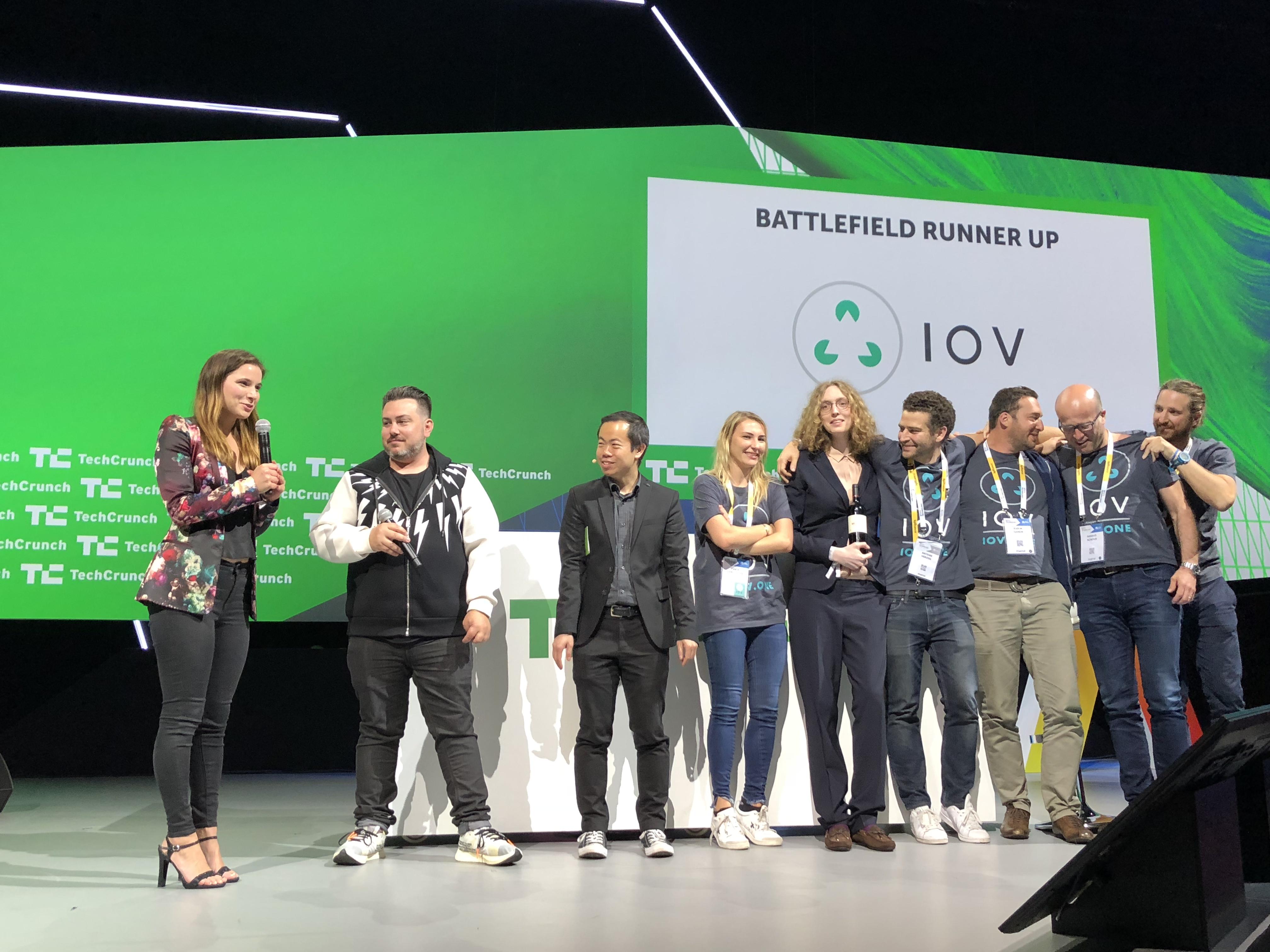 iov startup battlefield europe