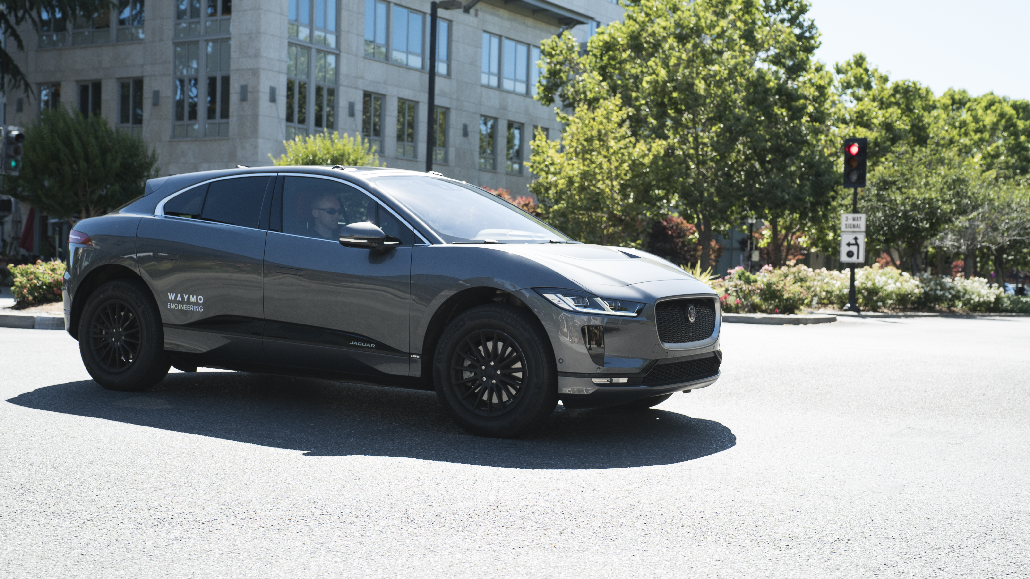 Waymo Announced In March A Strategic Partnership With Jaguar Land Rover To  Develop A Self Driving Electric I Pace For A Driverless Transportation  Service.