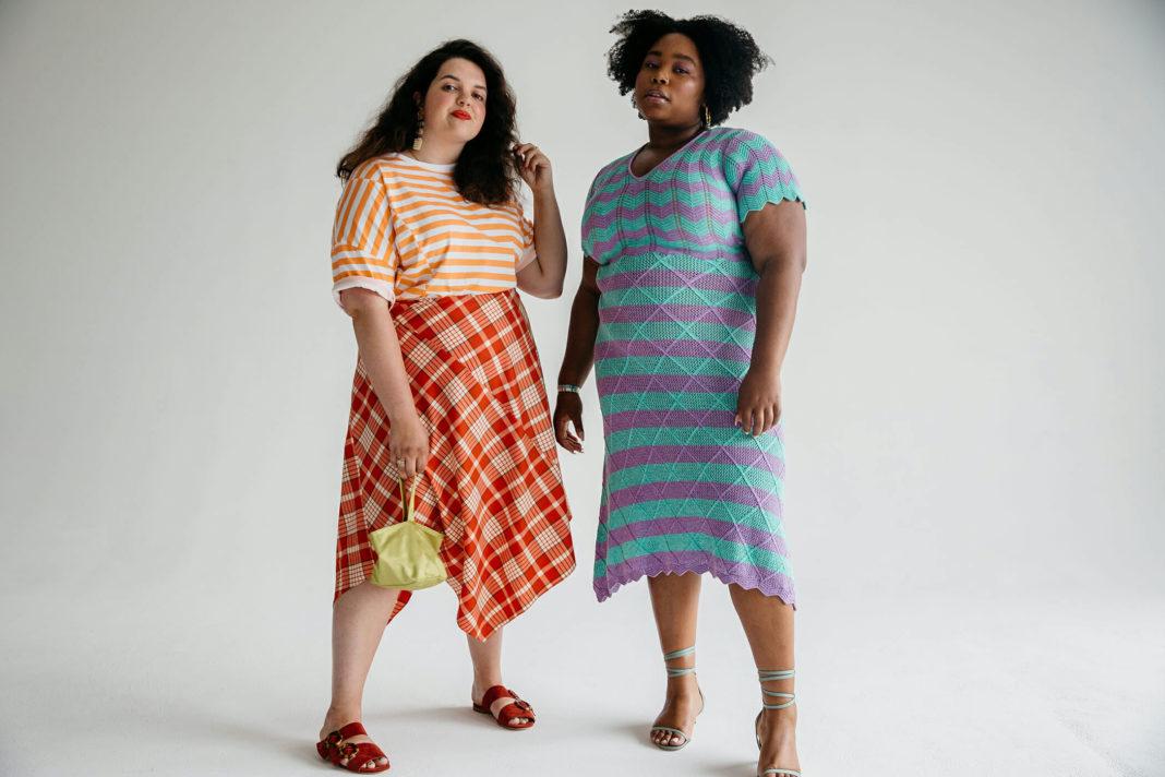 Parcel plans plus-sized fashion