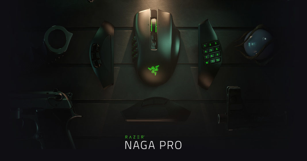 ADAPT TO ANY GAME WITH THE NEW RAZER NAGA PRO