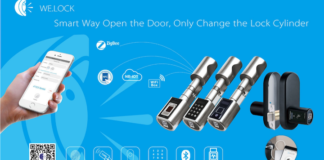 Welock - Keyless Fingerprint and Security-oriented Door