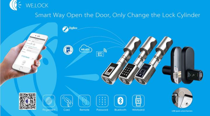 Welock - Keyless Fingerprint and Security-oriented Door