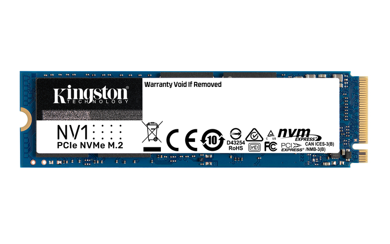 Kingston Digital Ships NV1 NVMe PCIe SSD
